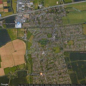 Glebelands location map